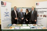 BU staff at the launch of the University Innovators Guide