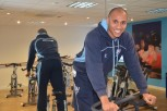 Charlton Clarke fundraising by doing 34 gym classes in one week