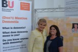 Angela Rippon and Anthea Innes