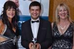 Student Star of the future award winner Kamron Arasteh