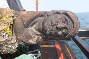 Swash Channel Wreck rudder