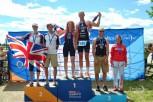 James Coleman wins gold
