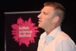 Bryce Dyer at the British Science Festival