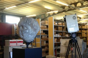 3D scanning of the head