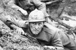 Kirk Douglas in Kubrick's 1957 film Paths of Glory