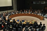 Show of Hands: The UN Security Council (EPA/Justin Lane)