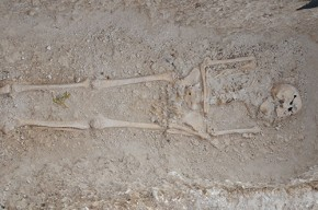 Late-Roman skeleton
