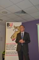 BU's Vice-Chancellor Professor John Vinney