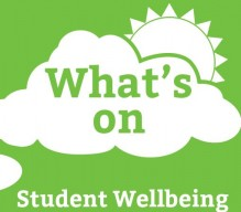 student wellbeing- whats on